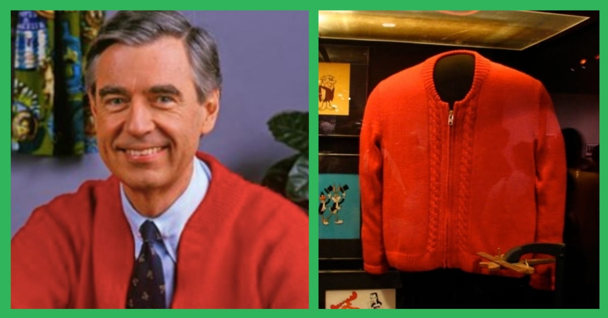 Replacing The Cardigans Mr Rogers Mother Made Him Was Surprisingly Complicated Here S How They Did It