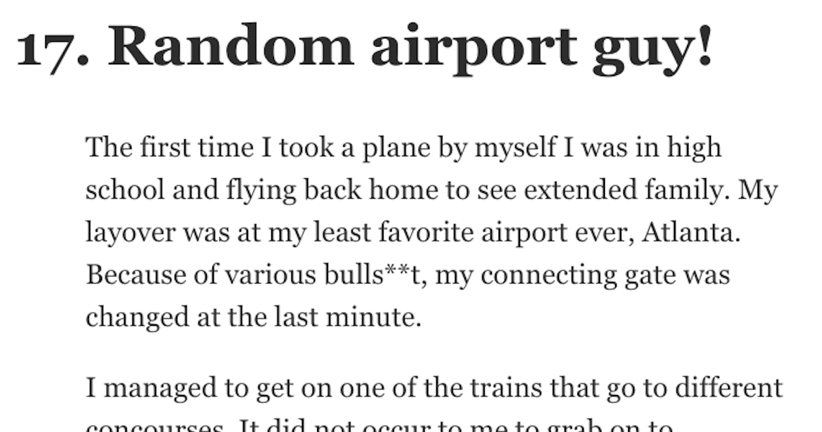 18 Times People Were Treated Better Than Expected by Strangers