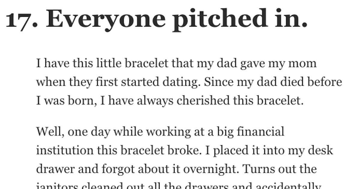 17 People Share How Just One Act of Kindness Changed Their Lives for the Better