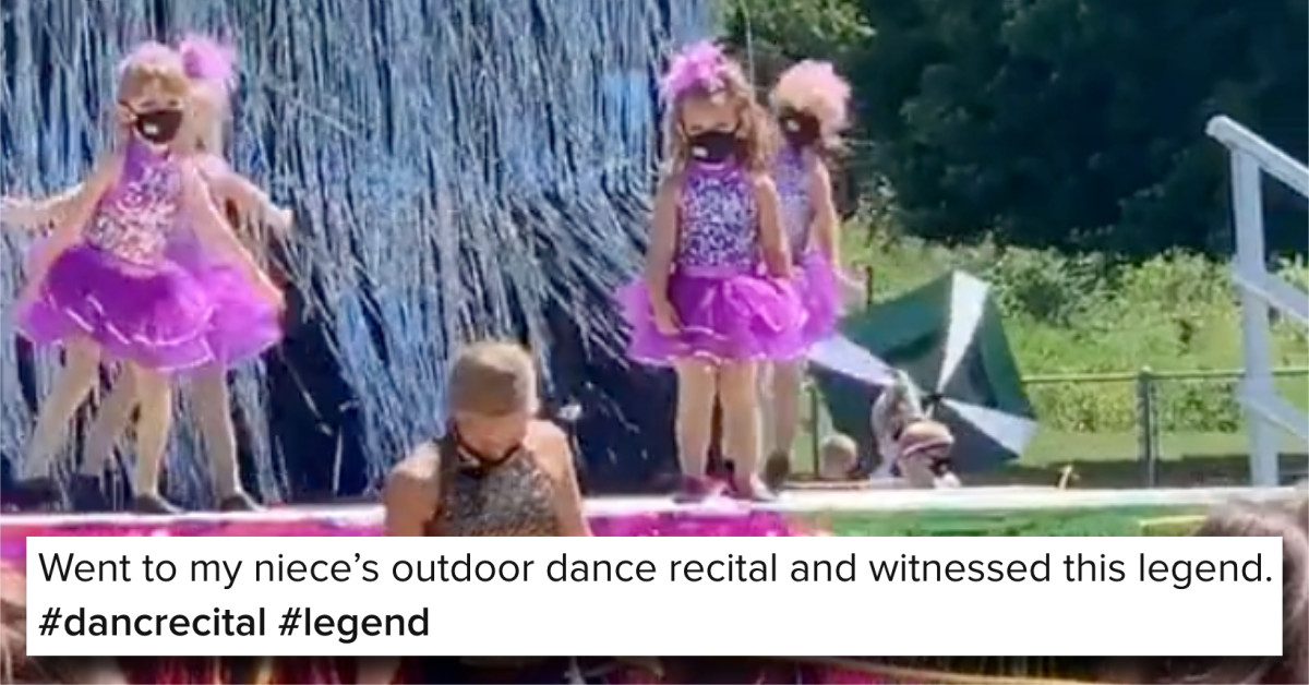 A 4-Year-Old Didn't Move a Single Muscle During a Dance Recital and People Loved It