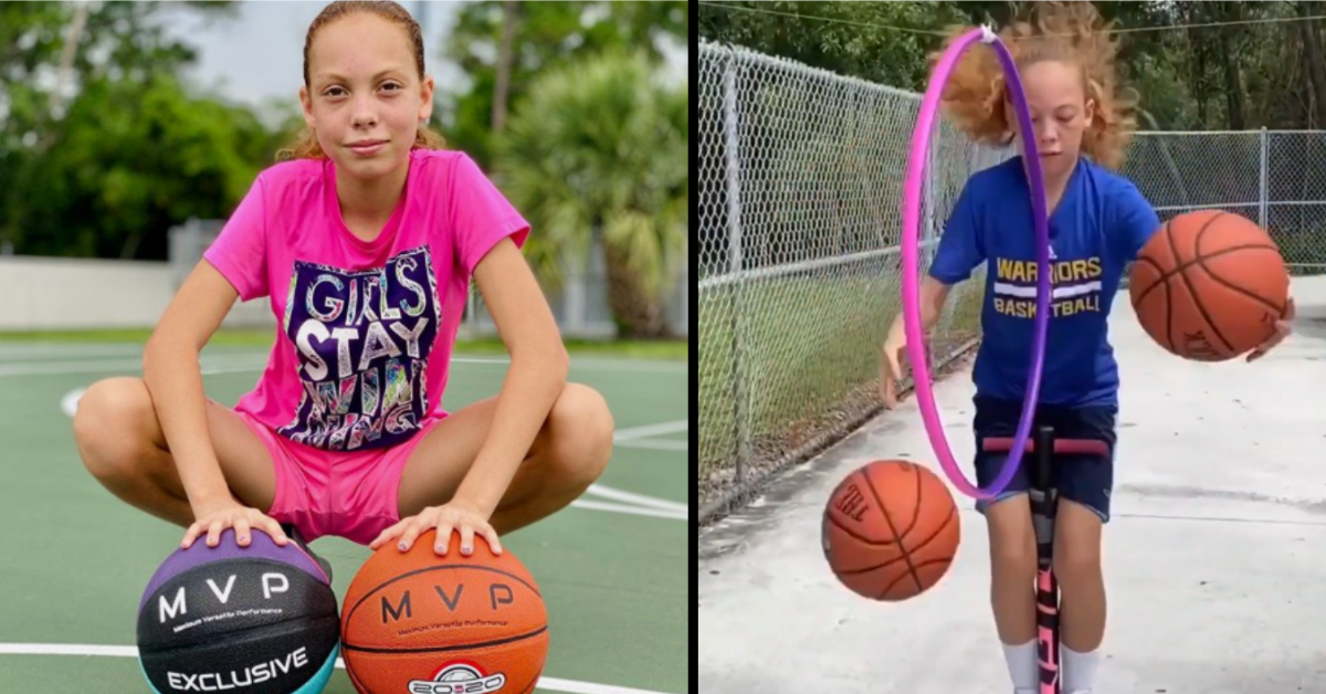 This 12-Year-Old Girl's Basketball Skills Are Pretty Incredible