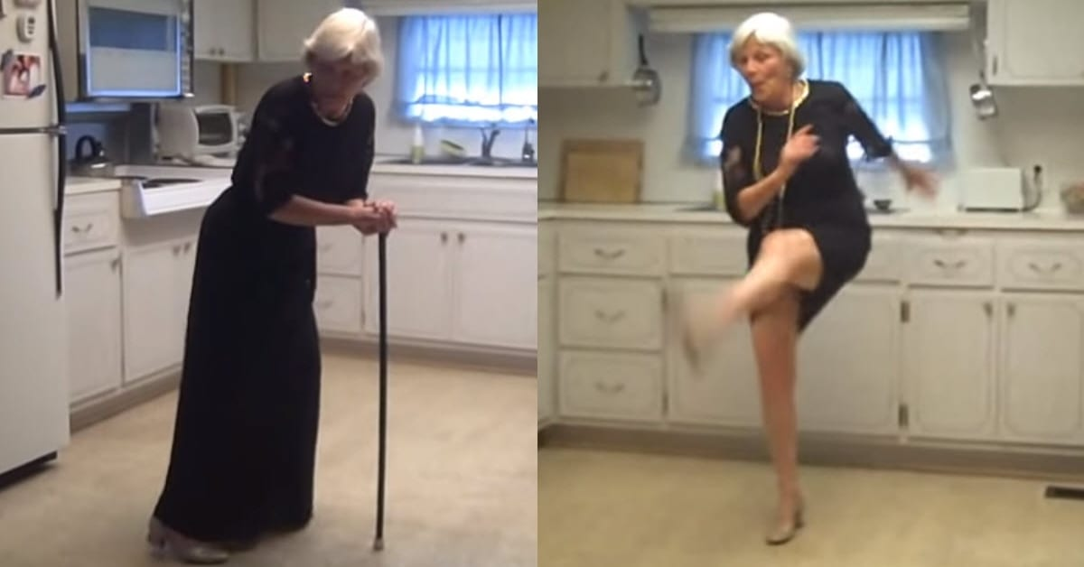 A Grandma Tosses Her Cane and Dances the Charleston in This Awesome Video