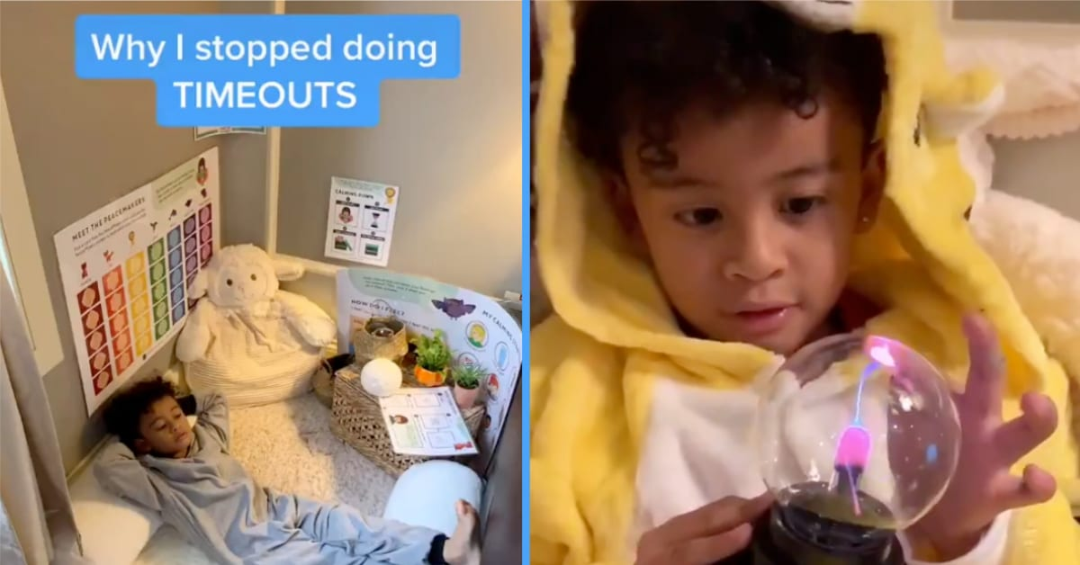 This Mom Developed a Time-Out Alternative, and the Internet Is Loving It