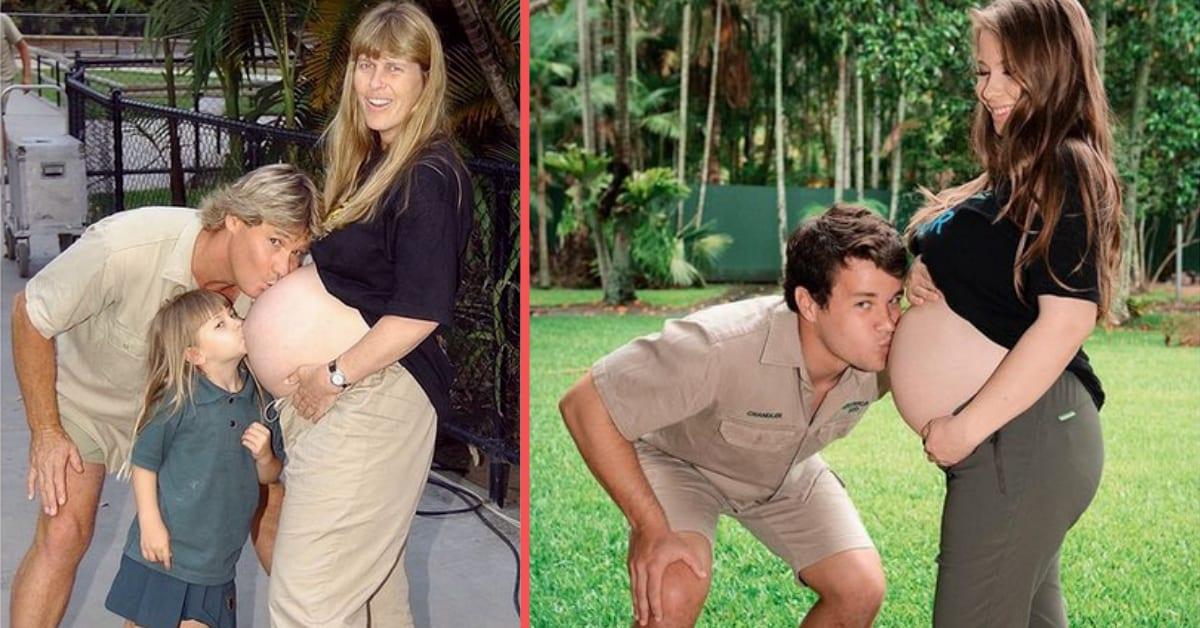 Crocodile Huntress Bindi Irwin Recreates Special Photo-Op For Steve
