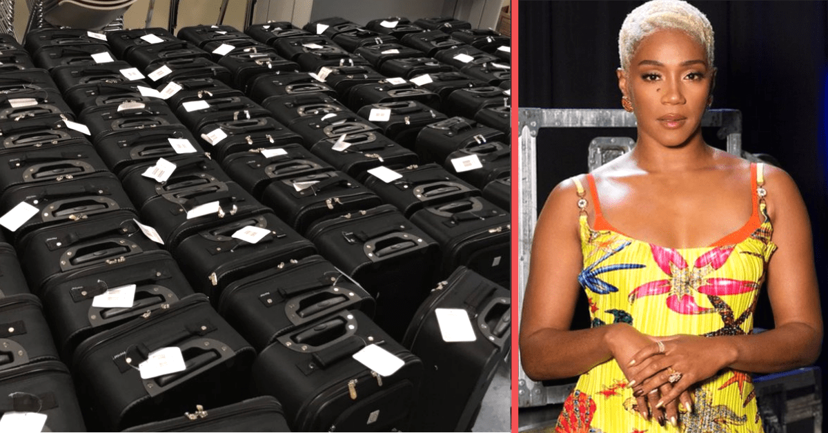 Tiffany Haddish Takes Foster Kids to New Heights with Donated Suitcases