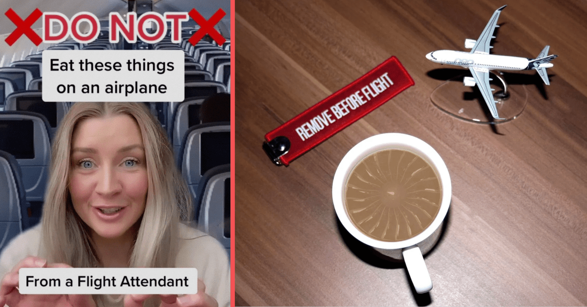 Flight Attendant Shares Why People Should Never Drink Coffee or Tea on Planes