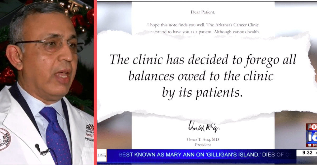 Cancer Doctor Forgives Over Half a Million in Patient Debt