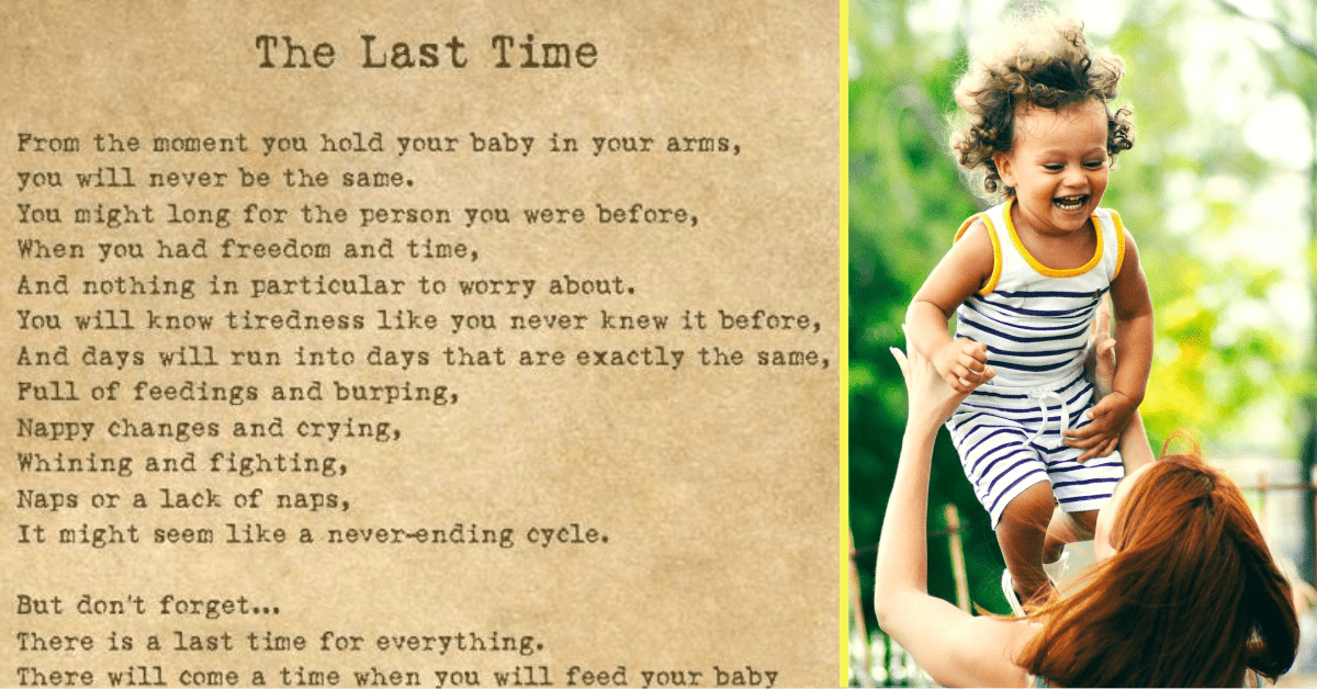 Ode to Motherhood Reminds Us to Cherish Every Moment