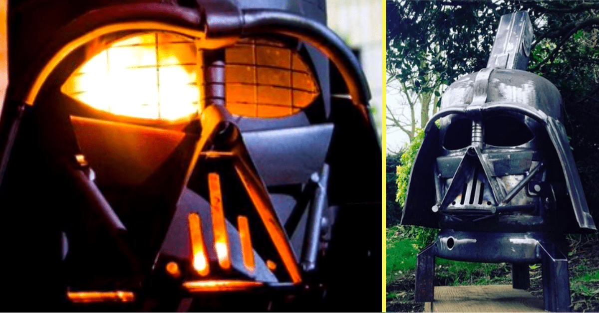 Hand-Made Darth Vader Grill Will Ensure Your Next BBQ Isn't a Phantom or a Menace